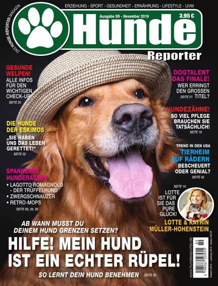 Hunde-Reporter October 25, 2019 00:00