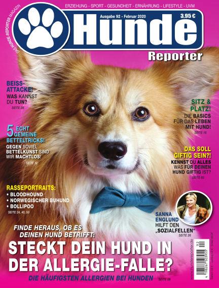 Hunde-Reporter January 31, 2020 00:00