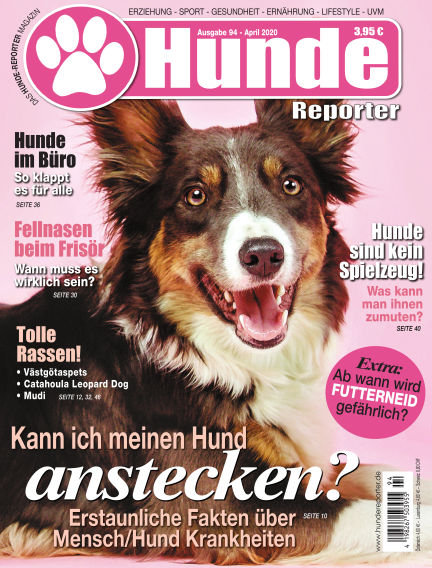 Hunde-Reporter March 27, 2020 00:00