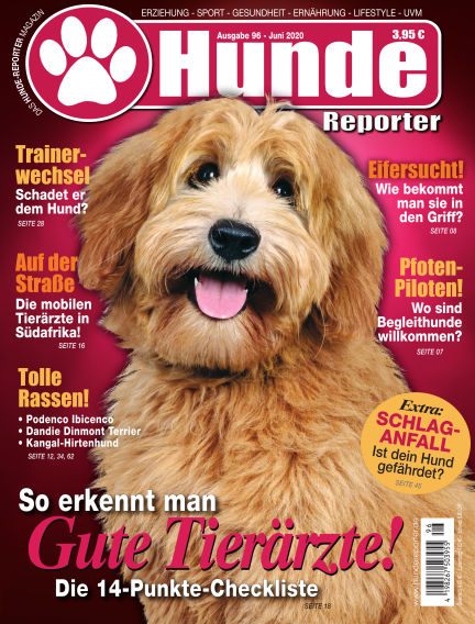 Hunde-Reporter May 29, 2020 00:00