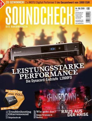 SOUNDCHECK 06/2018
