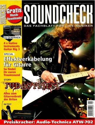 SOUNDCHECK 09-2008