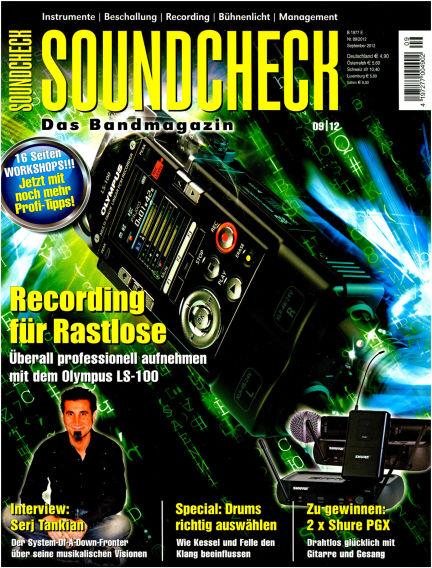 SOUNDCHECK August 13, 2012 00:00