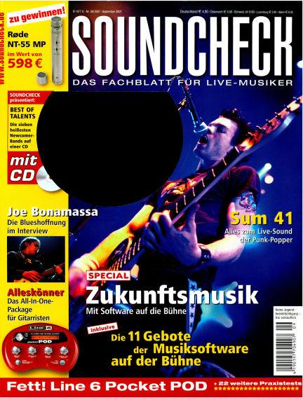 SOUNDCHECK August 13, 2007 00:00