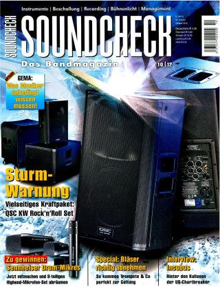 SOUNDCHECK 10-2012