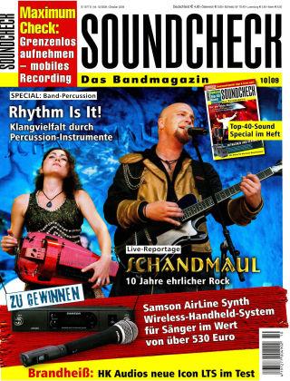 SOUNDCHECK 10-2009