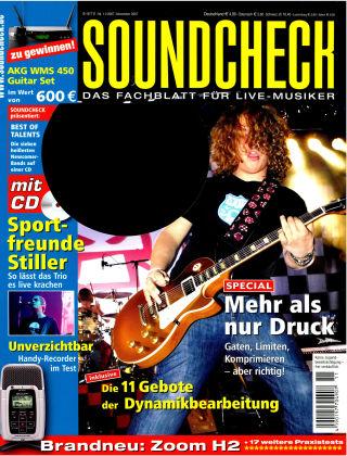 SOUNDCHECK 11-2007