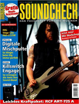 SOUNDCHECK 11-2008