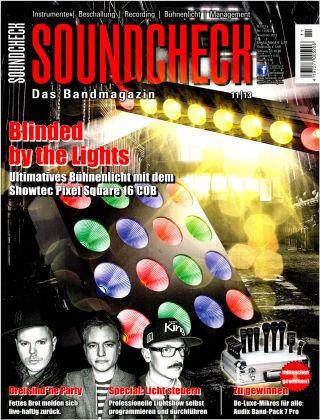 SOUNDCHECK 11-2013