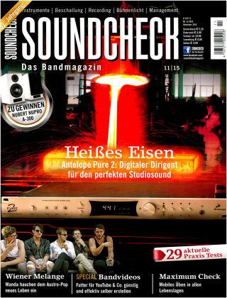 SOUNDCHECK 11-2015