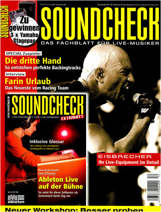 SOUNDCHECK 12-2008