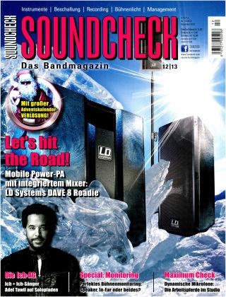 SOUNDCHECK 12-2013