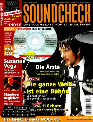 SOUNDCHECK 01-2008
