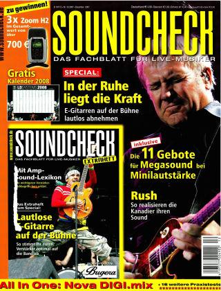 SOUNDCHECK 12-2007