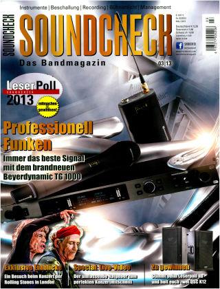 SOUNDCHECK 01-2013