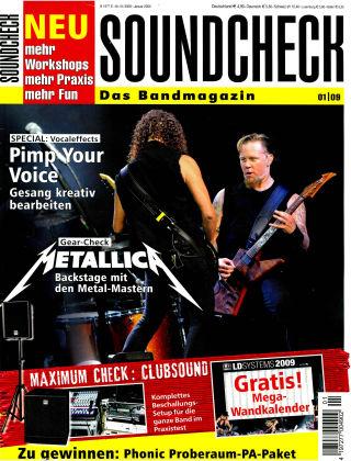 SOUNDCHECK 01-2009