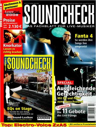 SOUNDCHECK 02-08