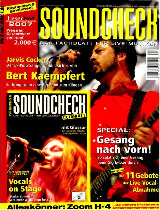 SOUNDCHECK 02-07