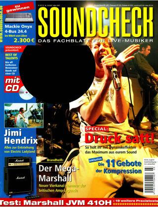 SOUNDCHECK 03-07