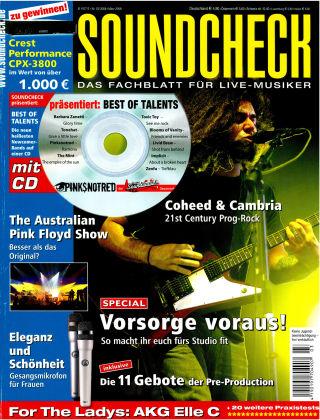 SOUNDCHECK 03-08