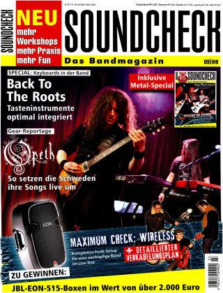 SOUNDCHECK 03-09