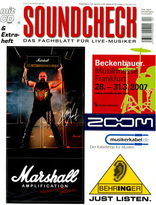 SOUNDCHECK 04-07