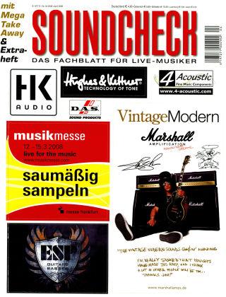 SOUNDCHECK 04-08