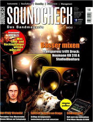 SOUNDCHECK 04-13