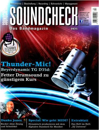 SOUNDCHECK 04-15