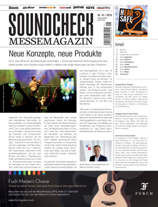 SOUNDCHECK Sonderheft 01/2019