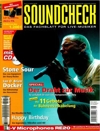 SOUNDCHECK 05-07