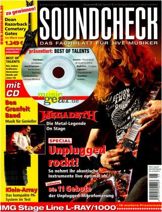 SOUNDCHECK 05-08