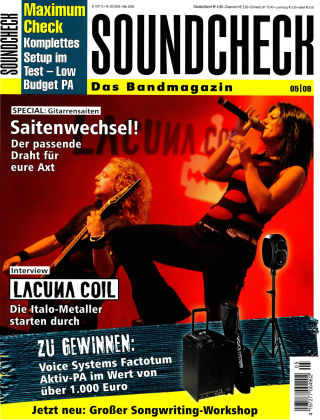 SOUNDCHECK 05-09