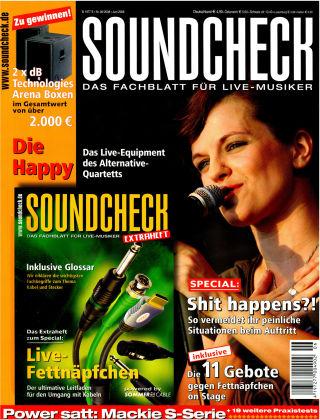SOUNDCHECK 06-08