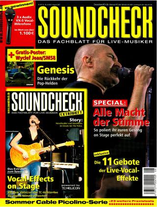 SOUNDCHECK 08-07