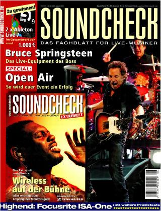 SOUNDCHECK 08-08