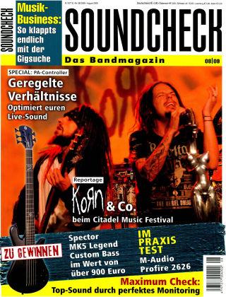 SOUNDCHECK 08-09