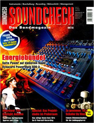 SOUNDCHECK 08-12