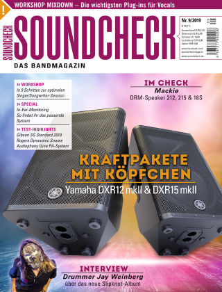 SOUNDCHECK 09/2019