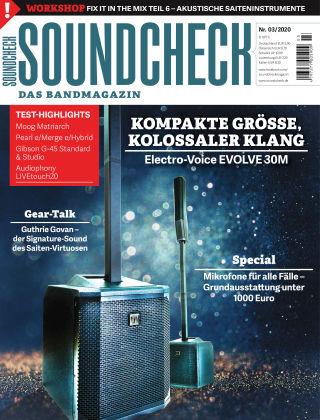 SOUNDCHECK 03-2020