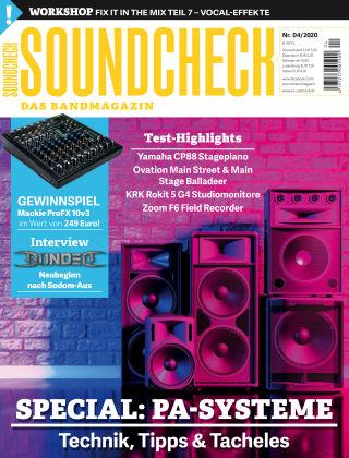 SOUNDCHECK 04-2020