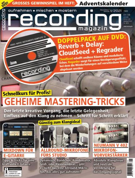 Recording Magazin November 13, 2020 00:00
