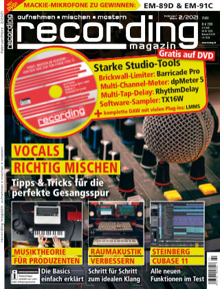 Recording Magazin 2021-02
