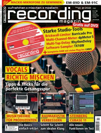 Recording Magazin January 15, 2021 00:00