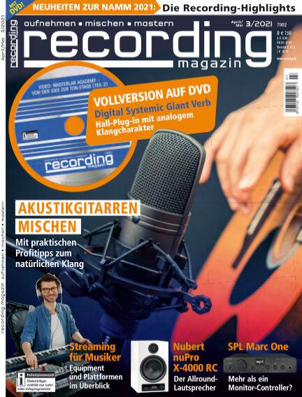 Recording Magazin March 12, 2021 00:00