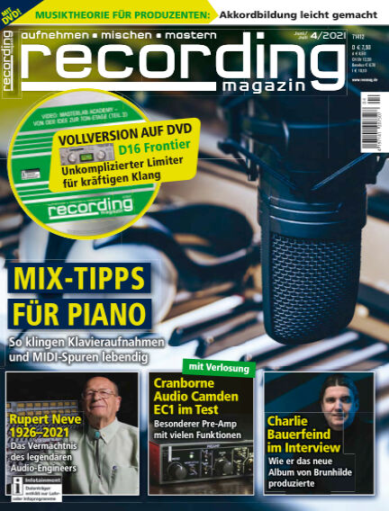 Recording Magazin May 14, 2021 00:00