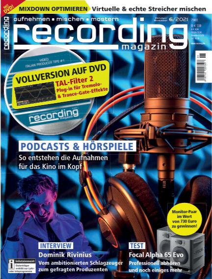 Recording Magazin September 10, 2021 00:00