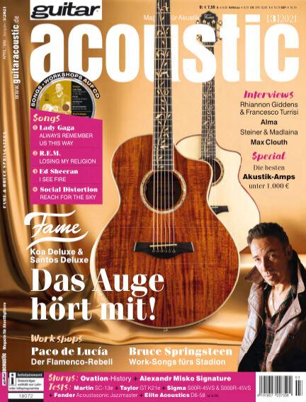 Guitar acoustic April 09, 2021 00:00