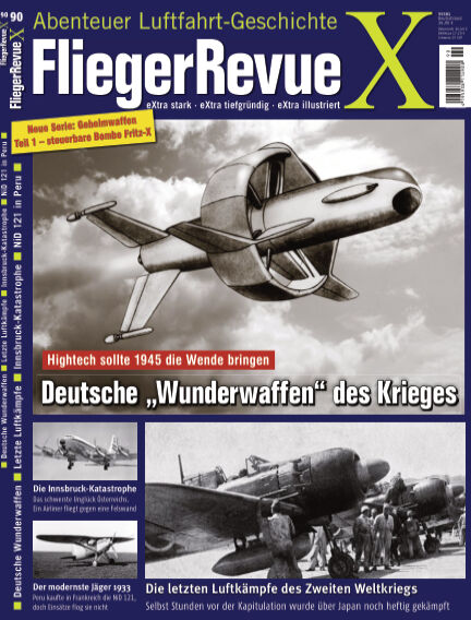FliegerRevue X July 31, 2021 00:00