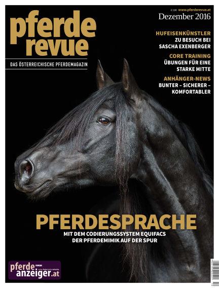 Pferderevue November 28, 2016 00:00